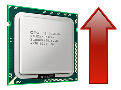 Increased CPU quotas
